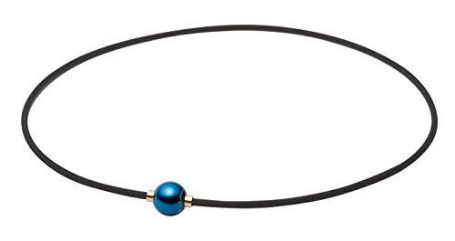 【羽生結弦選手愛用商品】ファイテン(phiten) ネックレス RAKUWAネック メタックス ミラーボール アースカラー 45cm
