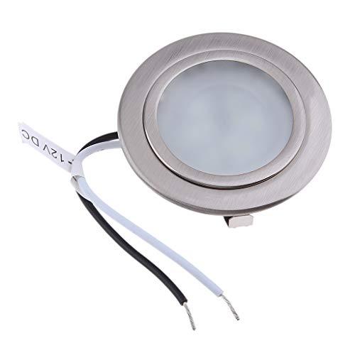 P Prettyia Luz de Techo LED de 12V 2.5W 2.75'Iluminación Empotrada 6000k