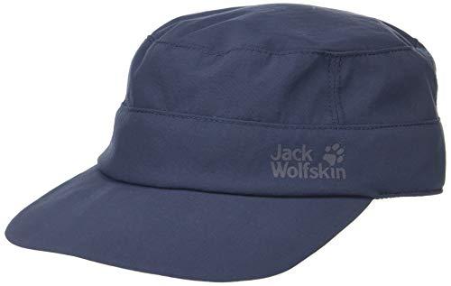 Jack Wolfskin Unisex-Kinder Supplex Bahia Casquettes Kappe, (Night Blue), (Herstellergröße: Medium)