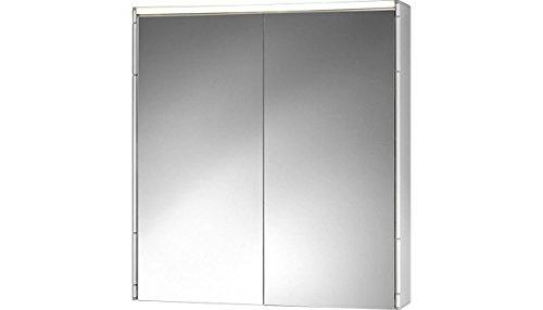 Spiegelschrank Alueco Aluminiumspiegelschrank mit Beleuchtung Badspiegel von Jokey
