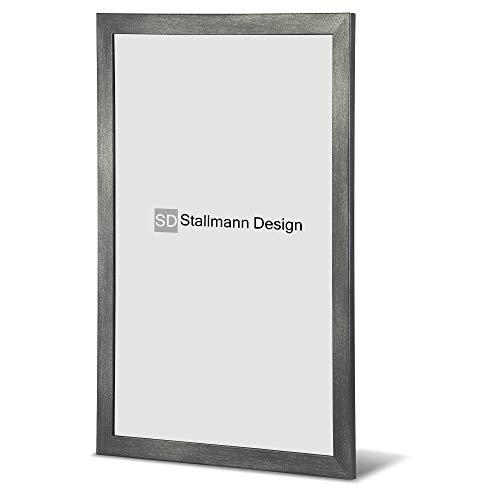 Stallmann Design Bilderrahmen New Modern 60x90 cm Stahl Rahmen Fuer Dina 4 und 60 andere Formate Fotorahmen Wechselrahmen aus Holz MDF mehrere Farben wählbar Frame für Foto oder Bilder