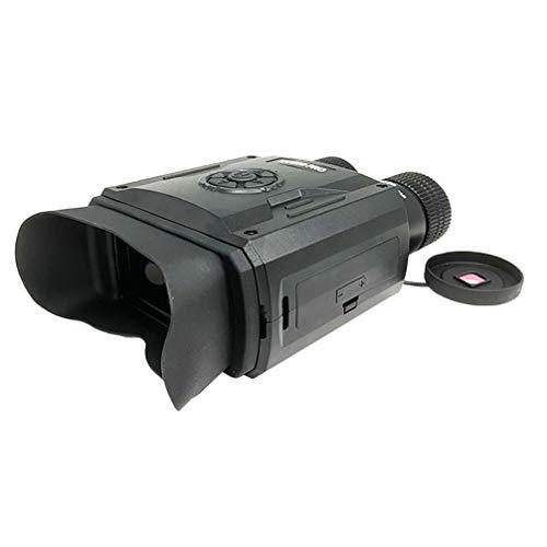 CLISPEED Gafas de Visión Nocturna Binoculares de Doble Tubo para Vigilancia de Camping Vídeo Fotográfico Al Aire Libre 1 Juego sin Batería sin Tarjeta de Memoria