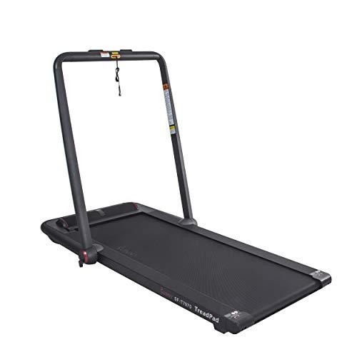 Sunny Health & Fitness Treadpad Flat Folding Treadmill with Premium Sound System – SF-T7970 Treadmills