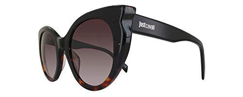 Just Cavalli Sonnenbrille JC786S-05F-53 Cateye Sonnenbrille 53, Schwarz