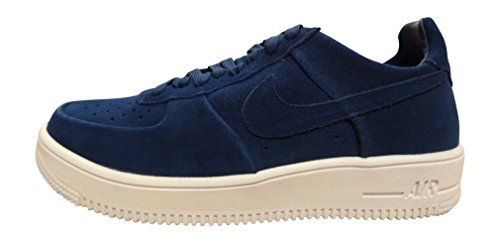 Nike Uomo Air Force 1 Ultraforce Scarpe Sportive Blu Size: 40 1/2