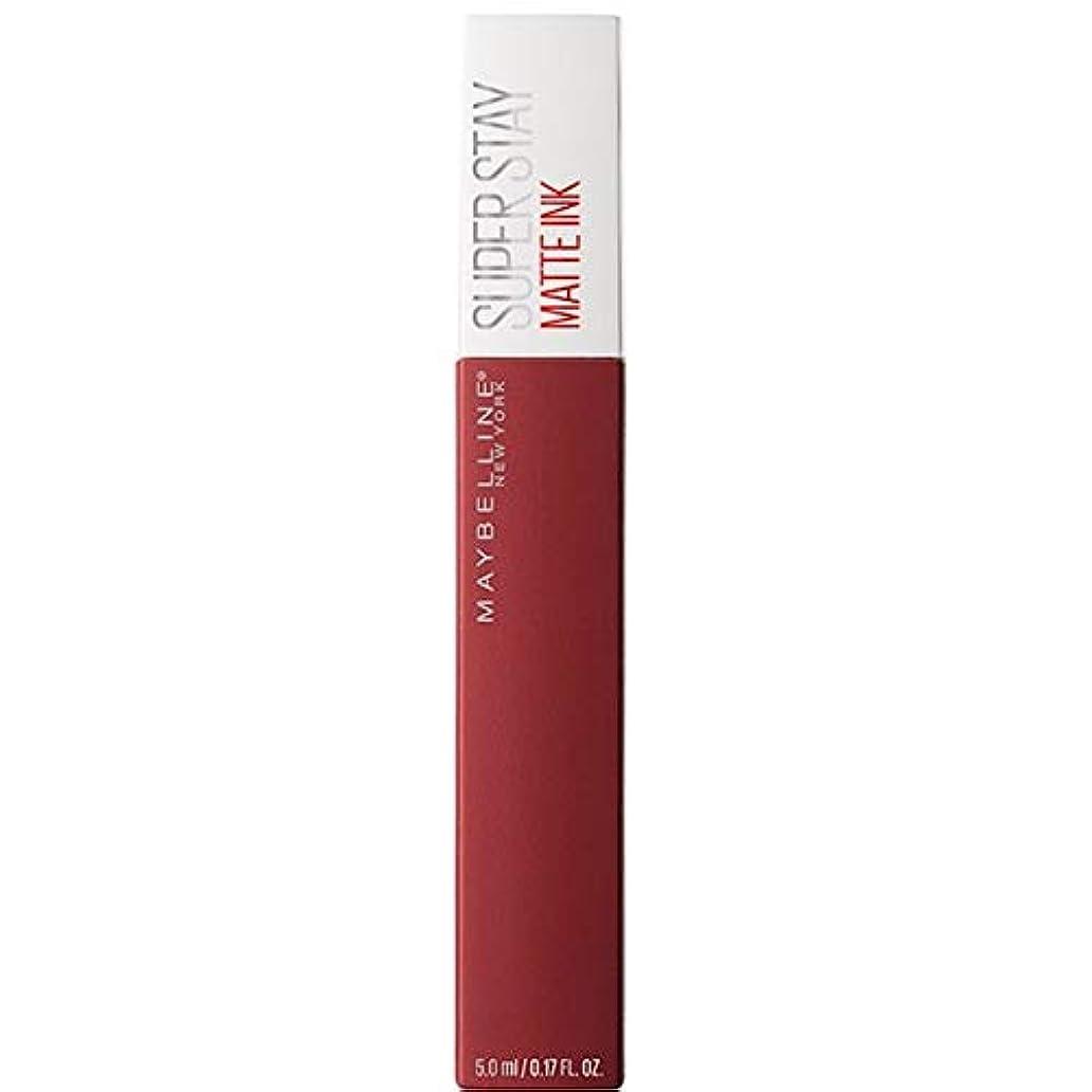 リーダーシップ低下染色[Maybelline ] メイベリンSuperstayマットインク液50ボイジャー - Maybelline Superstay Matte Ink Liquid 50 Voyager [並行輸入品]