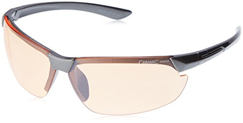 ALPINA Sonnenbrille Amition DRAFF Outdoorsport-brille, Anthracite, One Size