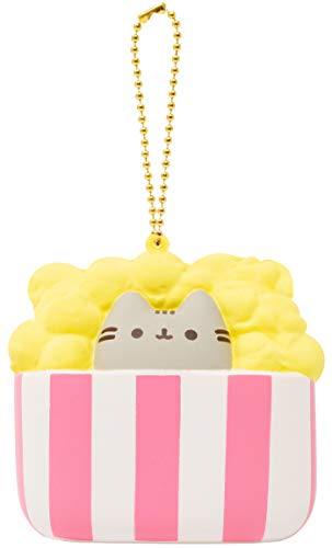 Hamee Pusheen Antistress Figur Popcorn Squishy EIS 7,5x7,5x4cm rosa weiß gelb