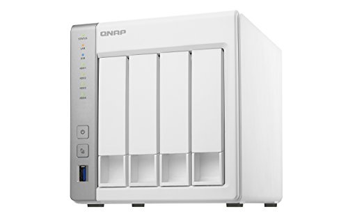 QNAP TS-431P Desktop NAS Gehäuse mit 1 GB DDR3 RAM, Powerful 4-Bay Storage Server