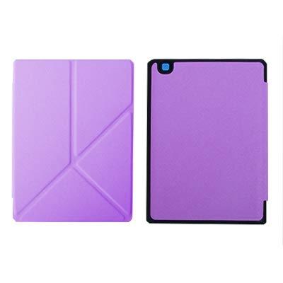 QiuKui Tab Funda para Kobo Aura One, protecive Shell Auto Sleep Funda Delgada Soporte magnético Cubierta de Cuero para Kobo Aura 7.8 Pulgadas eBook (Color : Purple Origami)