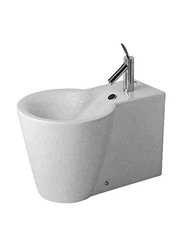 Duravit de pie para Bidé de Starck 1 64 cm 1 gallo de agujero, de colour blanco 274100000, 274100000