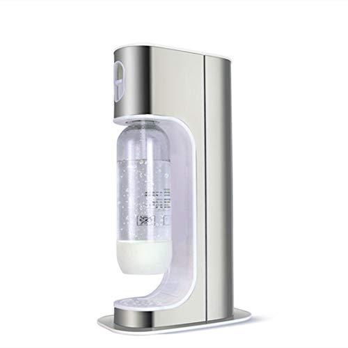 N \ A Motor de Arranque de Agua con Gas: máquina de Agua carbonatada, ventilación de Alivio de presión Completamente automática, Cuerpo de Acero Inoxidable, sin Cilindro, traer Dos Botellas de