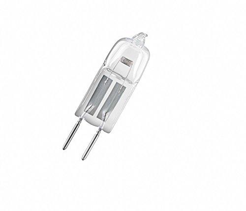 Osram HaloStar Halogen-Stiftsockellampe, G4-Sockel, dimmbar, 12 Volt, 10 Watt, Warmweiß - 2800K, 5er-Pack