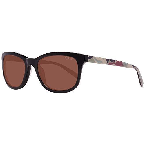 ESPRIT ET17890 53535 Sonnenbrille ET17890 535 53 Schmetterling Sonnenbrille 54, Schwarz