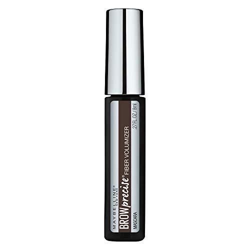 Maybelline New York Brow Precise Fiber Volumizer Eyebrow Mascara, Deep Brown, 0.27 fl. oz.