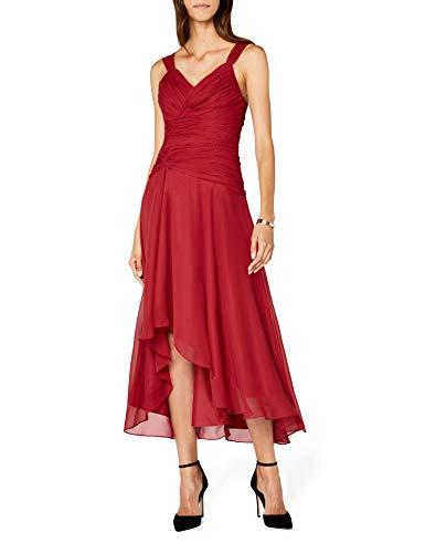 Astrapahl co6021ap, Vestido Cóctel Mujer, Rojo (Rot), 36 (Talla fabricante: 34 DE)