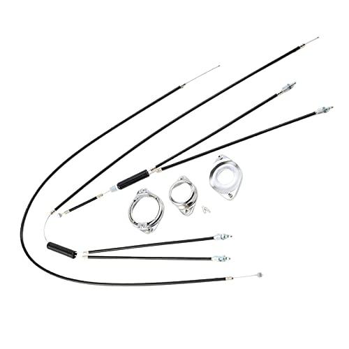 BMX Bike Cables de freno bicicleta Sistema Gyro Delantero Trasero Superior Inferior Spinner Rotor Cable de frenado Conjunto de carcasa con accesorios