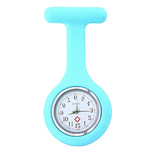zhichy Nurse Watch Nurse Fob Watch Watch with Second Hand Compatible with Nurses Clip Watch Lapel Watch