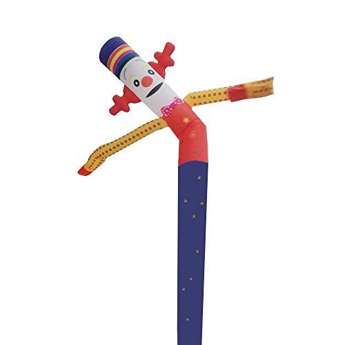 Faltbare Hüpfburg Dancer Anlage, Spaß Riesen Air Spielzeug Partyangebot for Indoor- und Outdoor-Deko, Display, Halloween (kein Gebläse) 8bayfa (Color : A, Size : 6m/20ft)