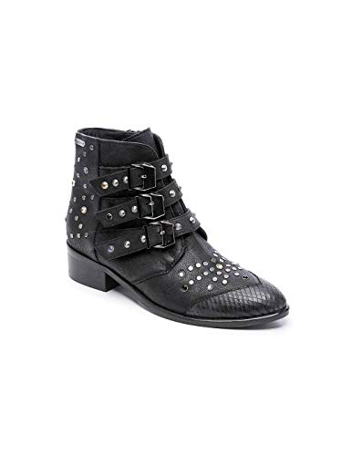 Pepe Jeans London Chiswick London, Botines para Mujer, Negro (Black 999), 40 EU (Zapatos)