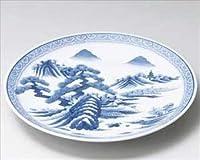 有田焼 染付山水尺5(45cm)大皿 盛皿・盛鉢 コレクション