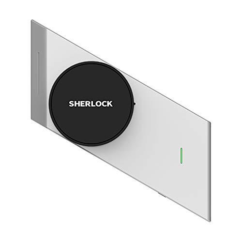 Sherlock2.1 Bloqueo inteligente de bloqueo Sherlock Bloqueo de puerta inteligente Teléfono inalámbrico Bluetooth Control de aplicaciones Bloqueo inalámbrico electrónico Sin llave: Amazon.es: Oficina y papelería