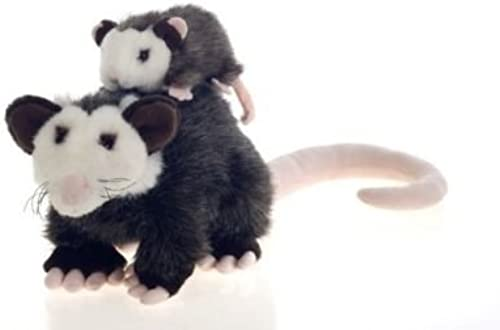 Fiesta Toys Plush 10'' MAMA With BABY OPOSSUM by Fiesta Toys