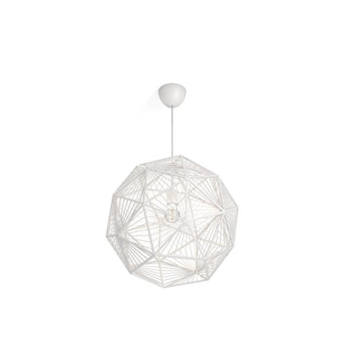 Philips Luminaire intérieur Smart volume Mohair suspension blanc 1x60w