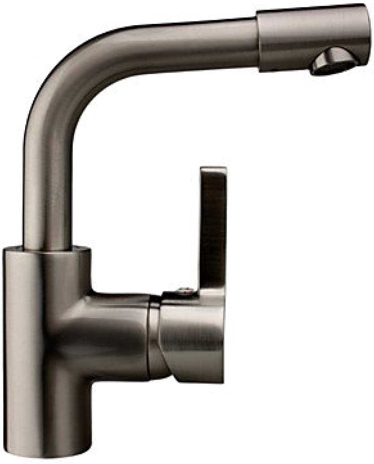 Lozse Contemporary Solid Brass Kitchen tap - Nickel Brushed Finish