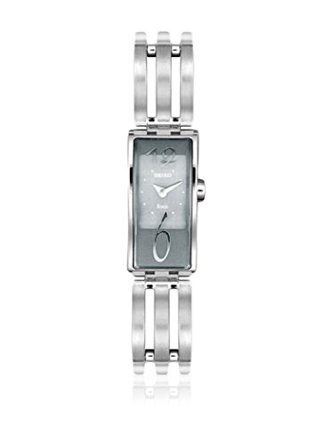 Seiko dameshorloge analoog kwarts met roestvrijstalen armband SXH033