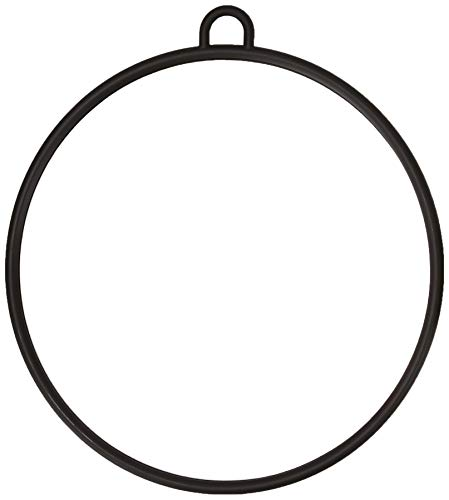 Efalock Spiegel Kunststoff, schwarz, 1er Pack