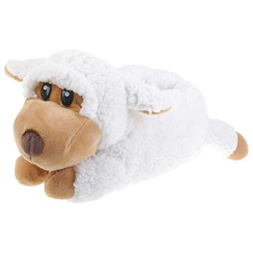Tierhausschuhe Kinder Hausschuhe Schaf, Weiß, 38/39, TH-Sheep