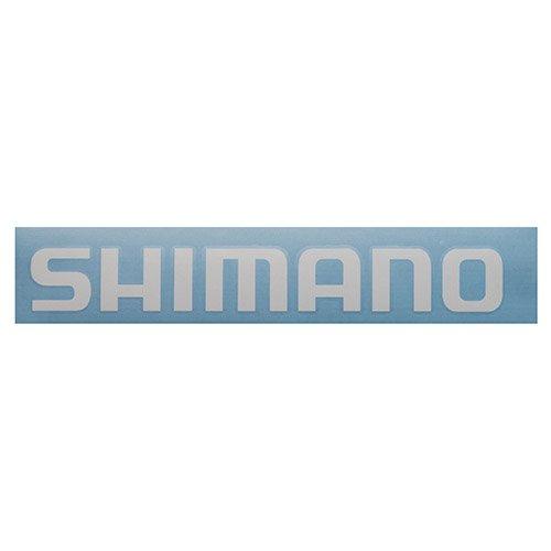 Shimano DECALSWH - Juego de adhesivos (tamaño pequeño), color blanco