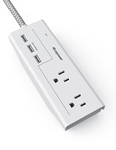IECOPOWER 2 Outlet Surge Protector Power Strip Only $8.39 (Retail $13.99)