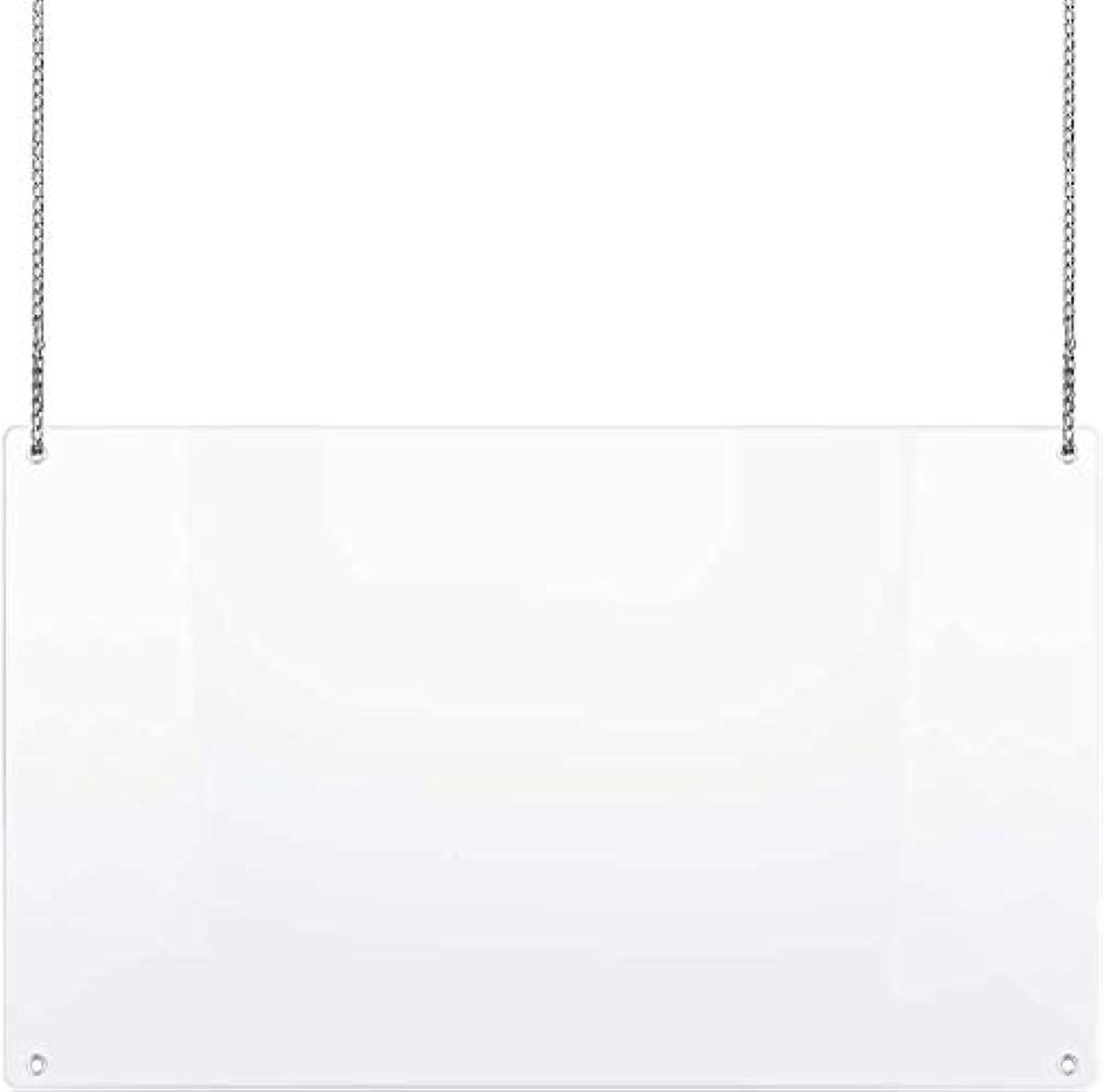 ポータルレザー健康的保護くしゃみガード安全保護のハンギングと折りたたみPVC製品安全カウンターに反対する咳や飛沫