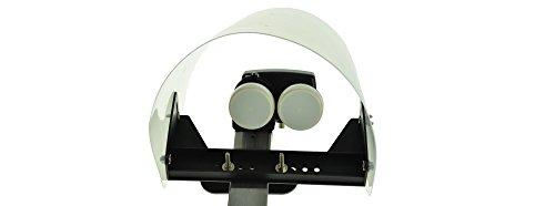 NA-Digital - hochwertige Wetterschutzhaube für LNB - effektiver Schutz bei Wind und Wetter für störungsfreien Empfang | ca. 26cm lang, ca. 27cm breit