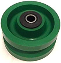 V-Groove Solid Polyurethane Wheel 4