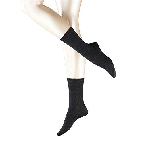 Falke Damen Socken Family 3er Pack, Größe:35-38;Farbe:Anthracite Melange (3089)