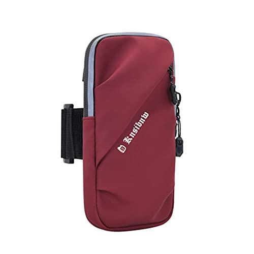 KSIBNW Bolsa para Brazo para Teléfono,Brazalete para Deportes al Aire Libre,Soporte para Teléfono para Brazo, Funda Impermeable para Teléfono con Brazalete para iPhone 12 Pro MAX XS/XR / 8/7