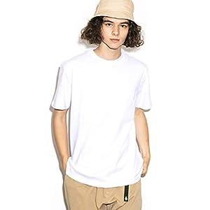 """(グッドウェア) Goodwear USAコットン無地ポケットTシャツ ホワイト L)"""""""