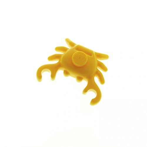 1 x Lego System Tier Krabbe orange Krebs Wasser Strand Hafen Küste 3063 7346 60014 33121