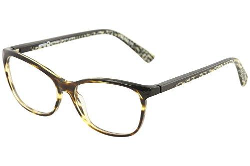 Etnia Barcelona Women's Eyeglasses Alanya HVCH Havana/Chess Optical Frame 54mm