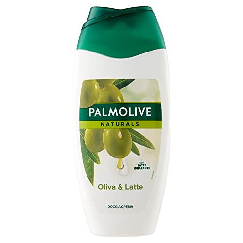 Palmolive Duschgel Naturals Olive & Milch, 6er Pack (6 x 250 ml) - Cremedusche mit Extrakten von Olive & Milch, geeignet für jeden Hauttyp