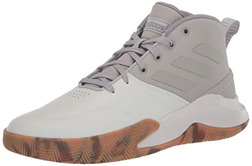adidas Men's Ownthegame Sneaker, Metal Grey/Metal Grey/Orbit Grey, 11 M US