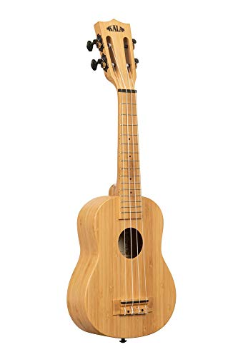 Kala KA-BMB-S - Ukelele soprano de bambú sólido