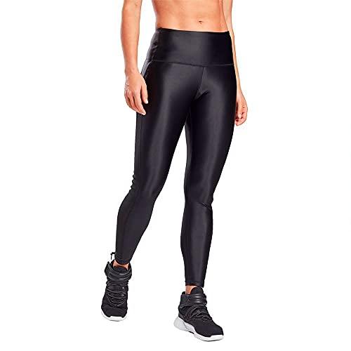 Reebok Damen Shiny Hr Tight Pant, Black, S
