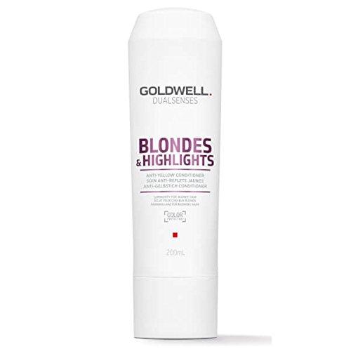 Goldwell Dualsenses Blondes und Highlights Anti-Gelbstich Condtitioner, 1er Pack, (1x 200 ml)