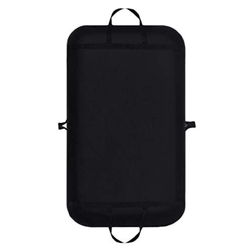 Sentao Suit Carrier Bag, Foldover Waterproof Garment Cover Travel Bag, Foldover Breathable Garment Bag with Handles and Gusset, 60cm*100cm