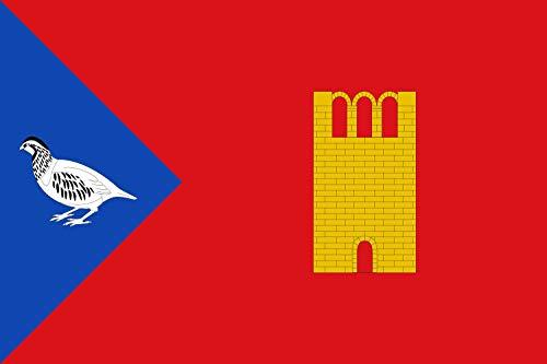 magFlags Bandera XL Laperdiguera-Huesca | Bandera Paisaje | 2.16m² | 120x180cm