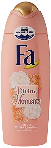 FA Duschcreme Divine Moments mit Duft von Wilden Kamlien, 6er Pack (6 x 250 ml)